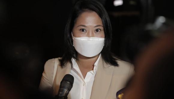 Keiko Fujimori indicó que firmará la Proclama Ciudadana con convicción. (Foto: Renzo Salazar /@photo.gec)