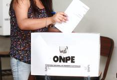ONPE adjudicó S/12 millones a Perú Libre y Fuerza Popular para franja electoral