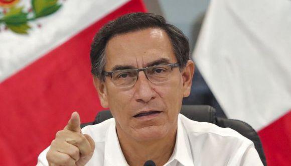 El presidente Martín Vizcarra dijo que buscar el fracaso del Gobierno implica querer que fracasen las políticas en favor de la ciudadanía. (Foto: GEC)
