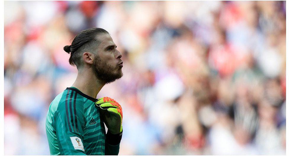 Jugadores del Real Madrid se burlaron de David de Gea por error en Rusia 2018 (VIDEO)