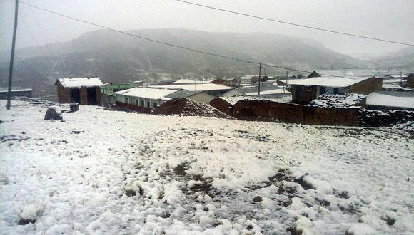 Municipalidades no informan sobre daños ocasionados por nevadas y bajas temperaturas