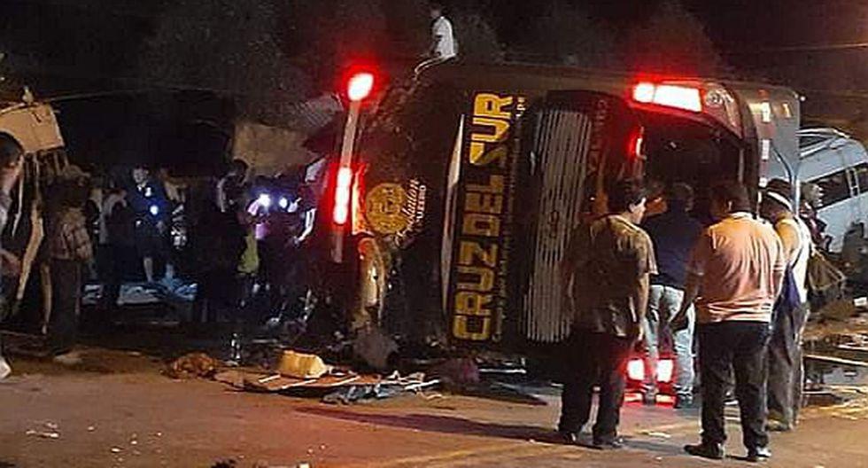 Tragedia: Accidente de bus deja por lo menos 10 fallecidos y un promedio de 32 heridos