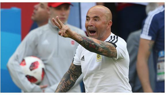 AFA dio a conocer  futuro de Jorge Sampaoli en la selección argentina
