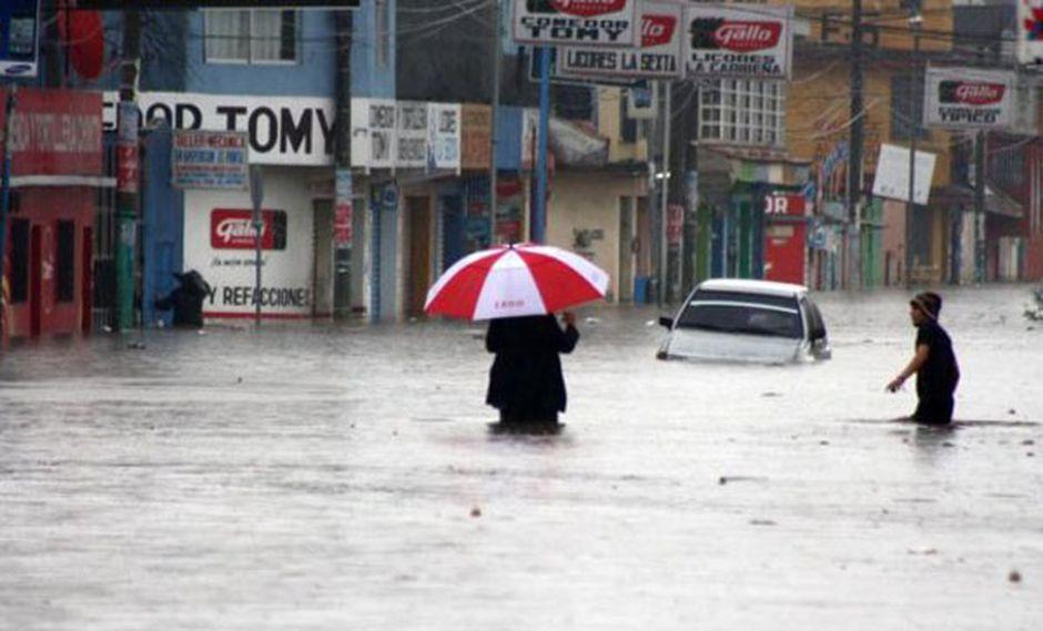 Lluvias dejan 630 mil afectados en Guatemala