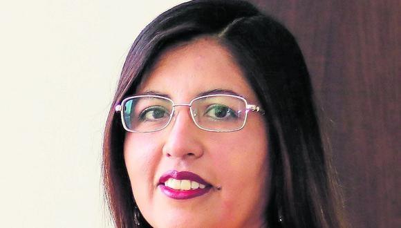 Pamela Denisse Cabala Banda De la Vega, directora del Centro de Estudios Peruanos de la UCSP. (Foto: Difusión)