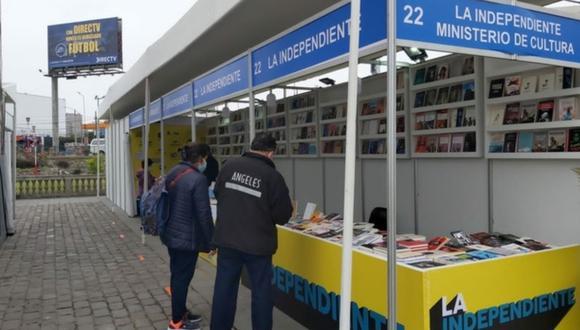 Se llevan a cabo cuatro ferias de libros en diferentes distritos de la capital. (Foto: Ministerio de Cultura)