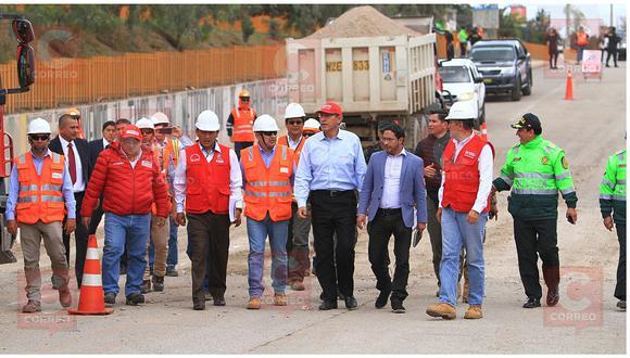 Vizcarra: MTC invertirá S/200 millones en carretera de cuatro carriles