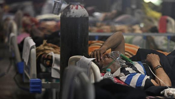 India supera los 250 000 muertos a causa de la COVID-19. (Foto de TAUSEEF MUSTAFA / AFP)
