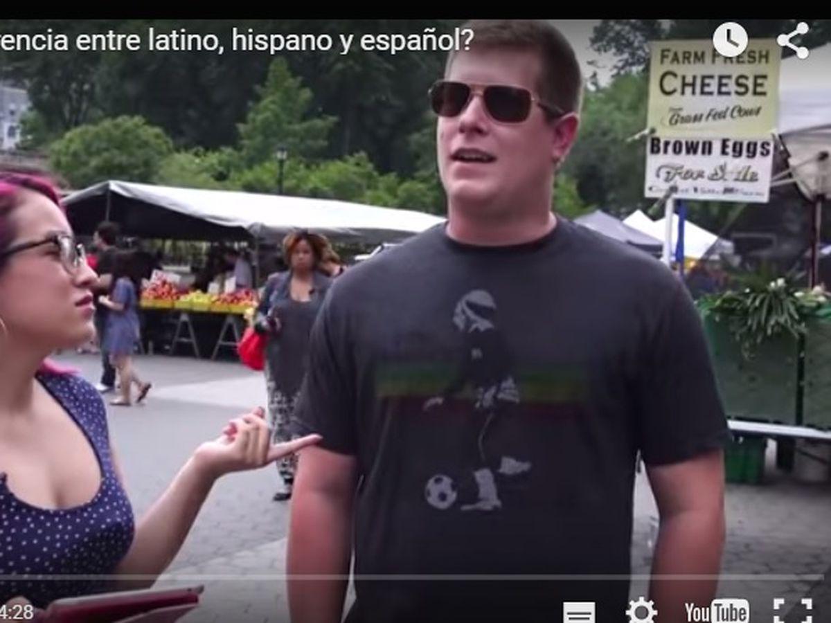 Actores Estadounidenses Hablando Español peruana enseña a estadounidenses diferencia entre latino
