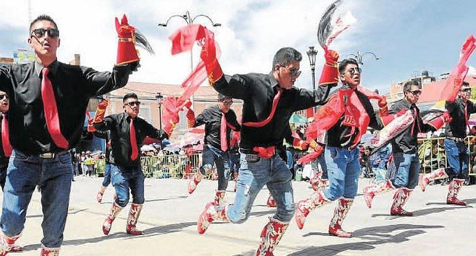 Puno celebró 54° Aniversario de la Federación de Folklore y Cultura