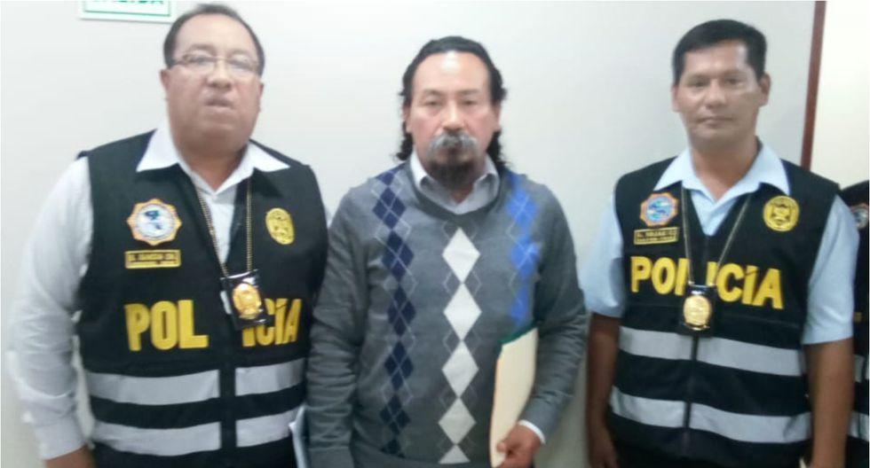 Líder del Frepap, Ezequiel Jonás Ataucusi, reapareció ante la policía. Foto: PNP