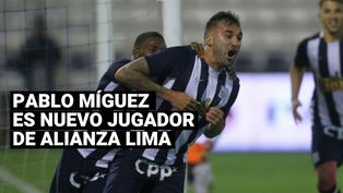 Alianza Lima confirmó el regreso de Pablo Míguez tras seis años