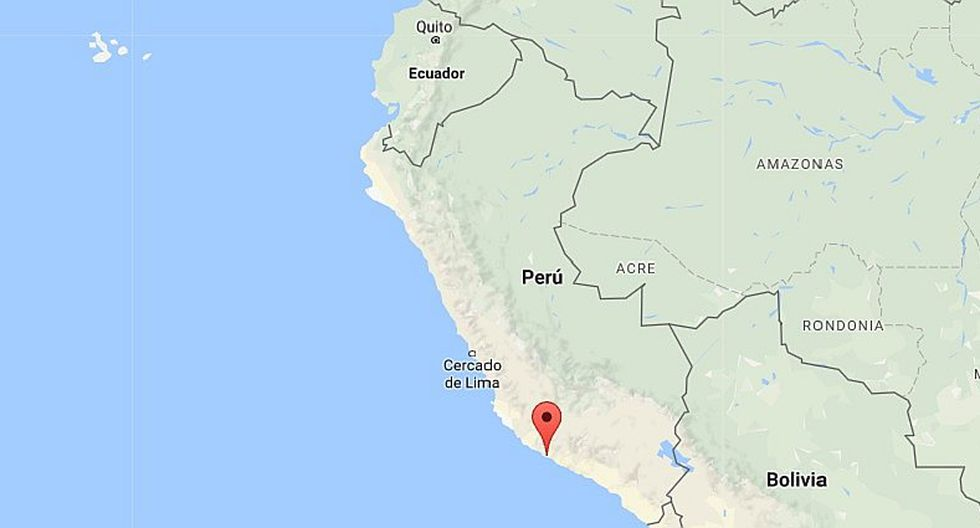 Sismo de 5.0 grados se registró esta madrugada en Arequipa