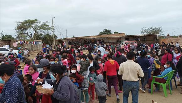 Los damnificados esperan apoyo con carpas y alimentos no perecibles porque sus viviendas han quedado inhabitables.