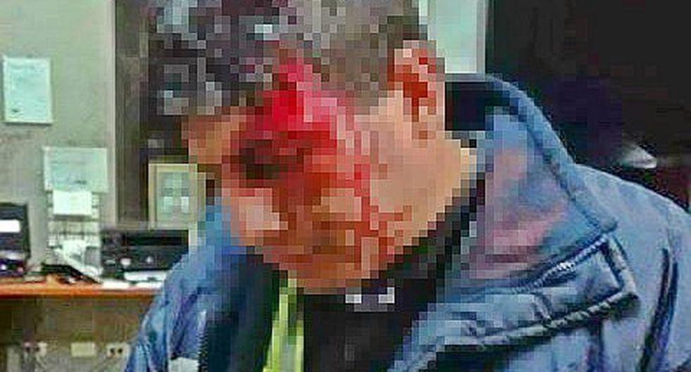 Siete delincuentes roban en el peaje de Puquio y dejan herido a administrador