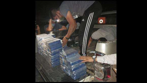 Junín: El golpe al narcotráfico se concretó gracias a información proveniente de inteligencia de la Policía de Pucallpa. (Foto: PNP)
