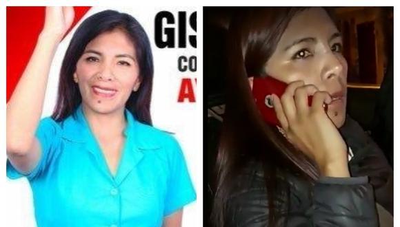 Candidata a la primera vicepresidencia protagoniza incidente. Collage: Correo / GEC