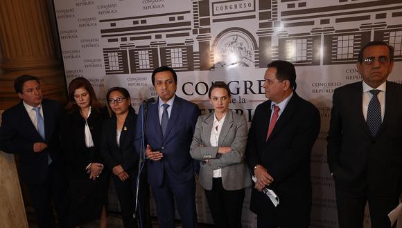 Cinco bancadas anuncian que votarán a favor de la cuestión de confianza (VIDEO)