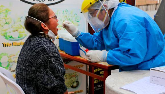 En lugares estratégicos se tomarán pruebas de antígeno. (Foto: Gobierno Regional de Lima)