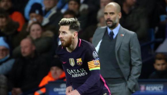 Pep Guardiola y Lionel Messi levantaron juntos dos Champions League. (Fuente: AFP)