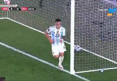 Argentina vs. Uruguay: Lautaro Martínez liquida el partido de las Eliminatorias con el 3-0 (VIDEO)