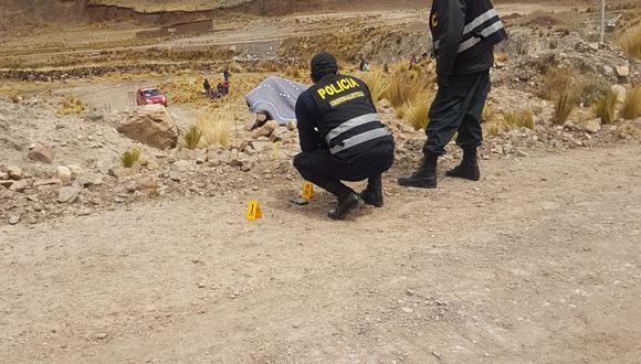 Agentes no hallaron indicios del o los asesinos, en la zona