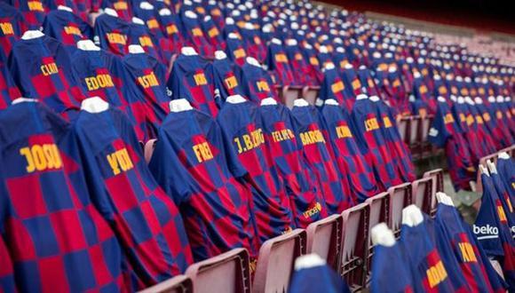 Barcelona cambia de camisetas de visita para la próxima temporada. (Foto: FC Barcelona)