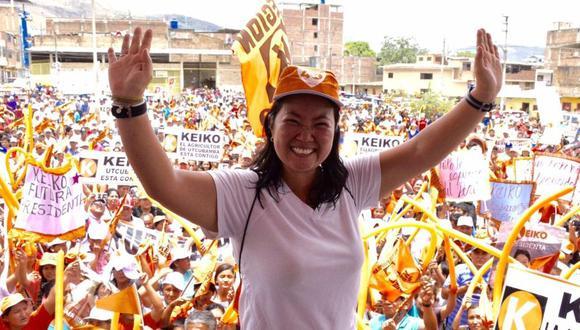 Admiten plancha presidencial de Keiko Fujimori para las elecciones 2021