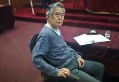 Lectura de resolución sobre Alberto Fujimori en caso esterilizaciones forzadas se reanudará el 21 de setiembre