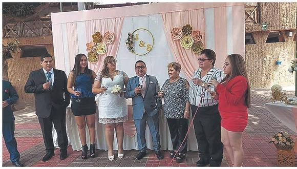 """Hombre que fue detenido por celebrar matrimonio: """"Mi boda es la más sonada del Perú"""""""