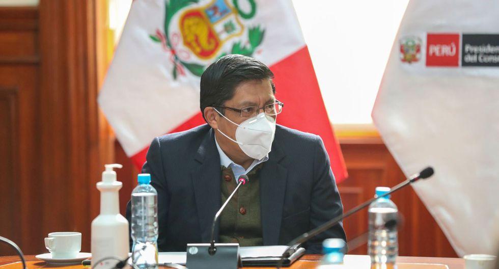 """Zeballos pide """"mayor reflexión"""" al Congreso por interpelaciones a ministros (Foto: Andina)"""