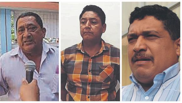 Asimismo, el gobernador Wilmer Dios Benites, así como los exgobernadores Ricardo Flores y Gerardo Viñas tienen problemas con la justicia.