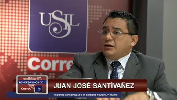 """Juan José Santívañez: """"Sentencia de Martín Belaunde Lossio podría ser de 20 años"""""""