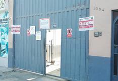 Ica: clausuran local comercial por no contar con licencia de funcionamiento