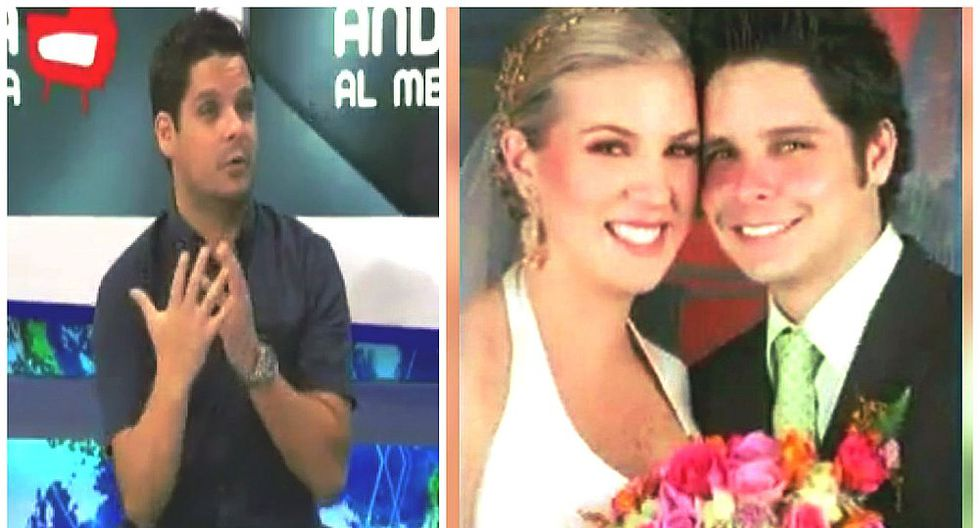 Gian Piero Díaz sorprende con historia de amor detrás de su relación de 17 años (VIDEO)