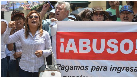 Protestarán contra peaje de La Molina frente a la Municipalidad de Lima