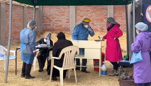 Salud continuará aplicando pruebas rápidas COVID-19 en Chumbivilcas - Cusco
