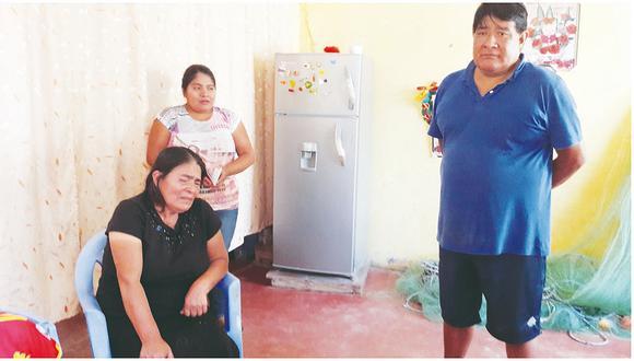 Santa Rosa llora por sus ocho pescadores que desaparecen en el mar de Chimbote