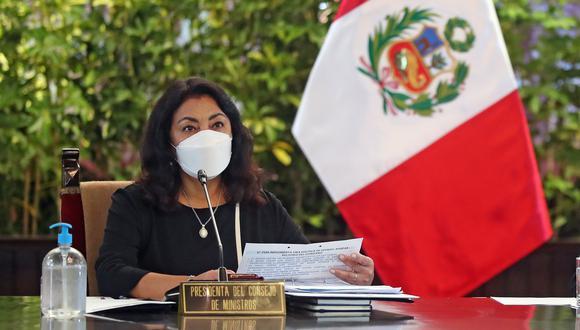 La titular de la PCM, Violeta Bermúdez, dijo que la política debe estar alejada de insultos y mentiras. | Foto: PCM
