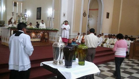 Tacna: Con misa crismal inician actividades de Semana Santa
