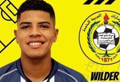 Wilder Cartagena fue presentado en el Ittihad Kalba de Emiratos Árabes