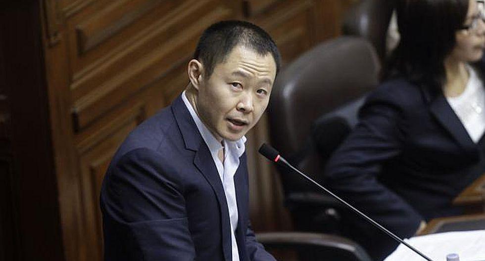 Ocho bancadas piden que el Pleno debata el retorno de Kenji Fujimori al Congreso