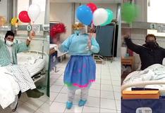 Enfermeras bailan huainito cusqueño para alegrar a pacientes COVID-19 (VIDEO)