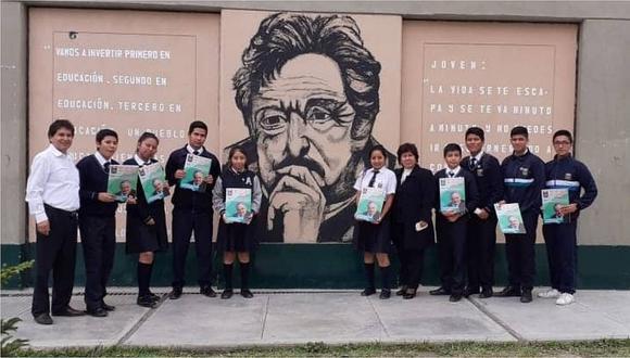 Alumnos de Torres Araujo se preparan para recibir a Mujica