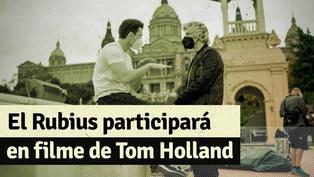 El Rubius participará en película con Tom Holland: Mira aquí fotos que compartió el streamer del detrás de cámaras