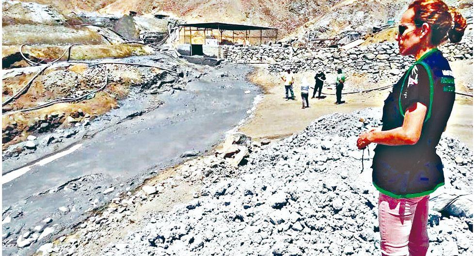 Fiscalía detecta derrame de presunto relave de minerales en Vesique