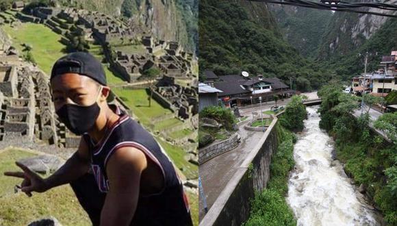 La increíble historia del ciudadano japonés Jesse Katayama en Machu Picchu comenzó el 14 de marzo de este año en Aguas Calientes