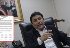 15 dirigentes del Apra piden expulsión de excongresista Elías Rodríguez