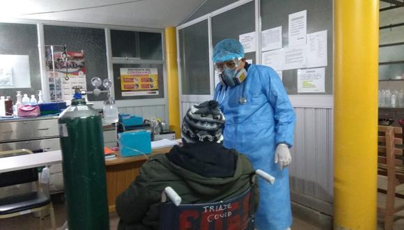 Los pacientes siguen llegando a los hospitales de la región.