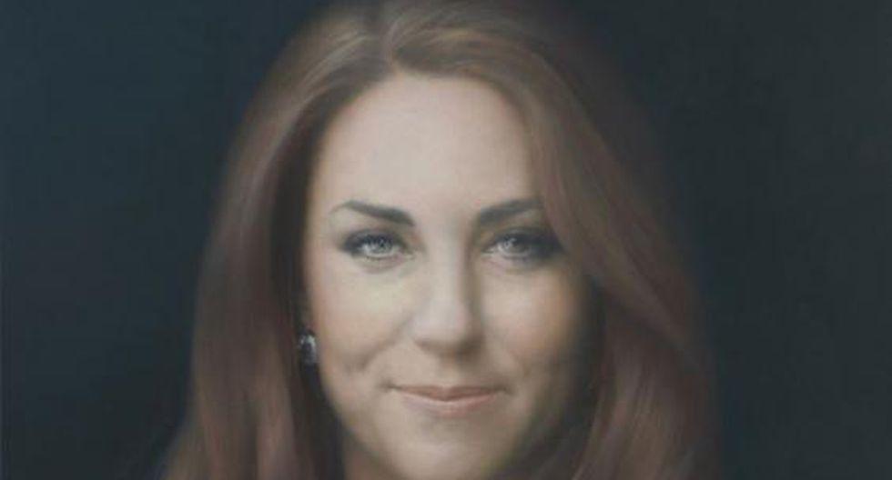 Critican retrato oficial de Kate Middleton